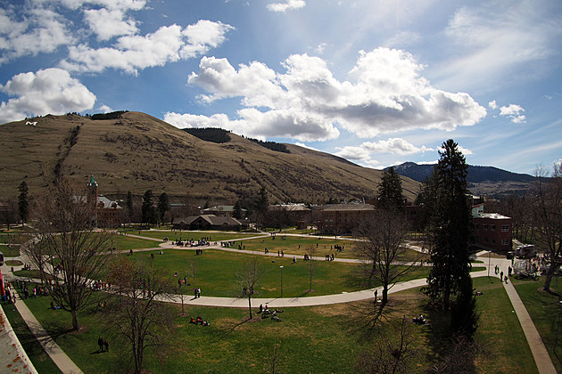 Mount Sentinel Over UM Campus