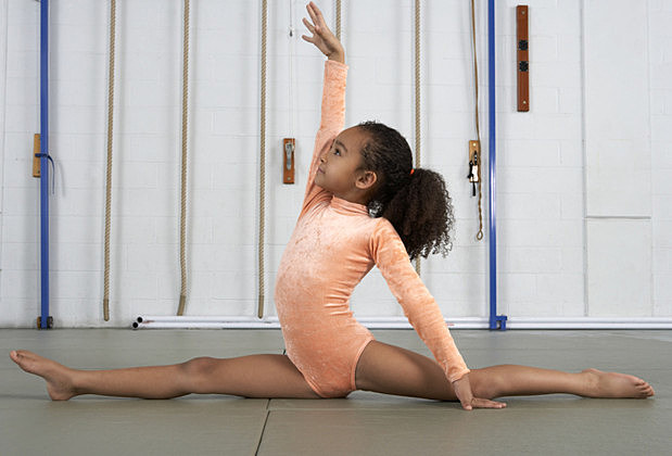 how to train to do the splits beginner