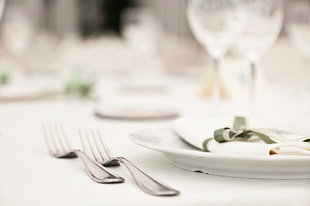 Elegant Decoration of Table in a Restaurant