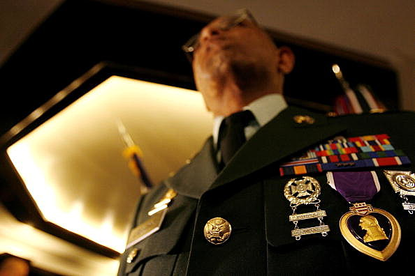 Four Wounded Veterans Honored With Purple Heart
