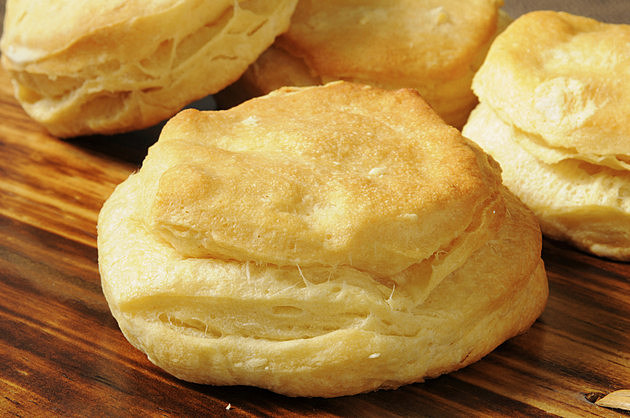 Fresh baked biscuit