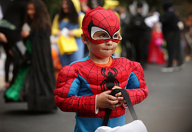 President Obama And First Lady Welcome Children To White House For Halloween