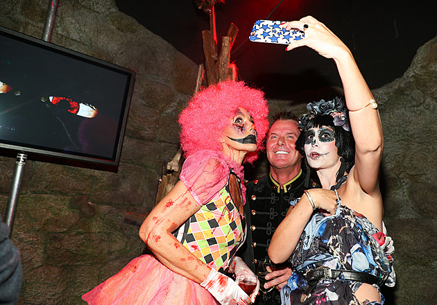Halloween Party by Natascha Ochsenknecht At Berlin Dungeon